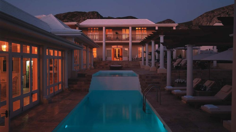 La piscine du Birkenhead House