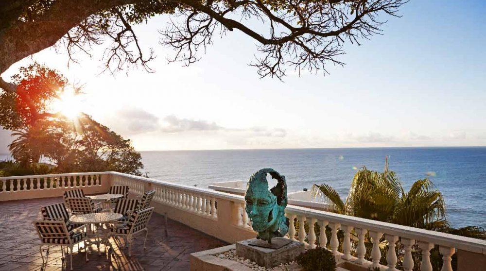 Fin de journée sur la terrasse