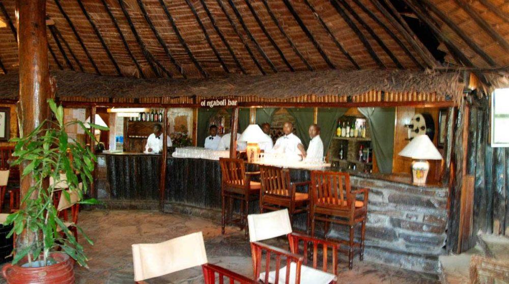 Le bar du Fig Tree Camp