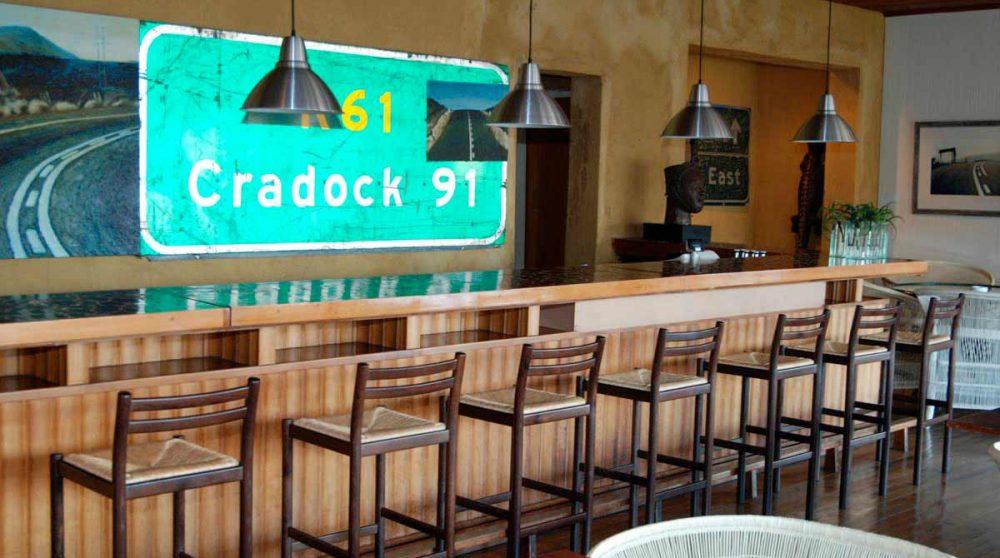 Le bar au Graskop Hotel