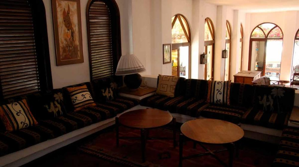 Salon à l'Indian Ocean Beach Club