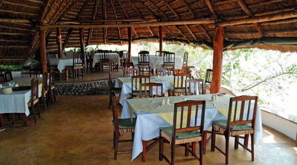 Le restaurant de l'Island Camp