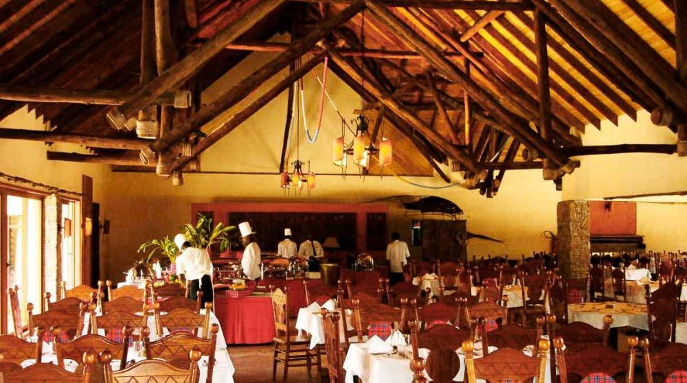 Le restaurant du Keekorok