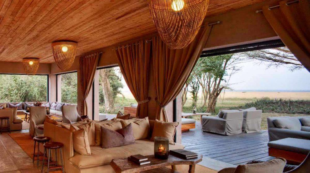 Autre vue du salon du Kichwa Tembo