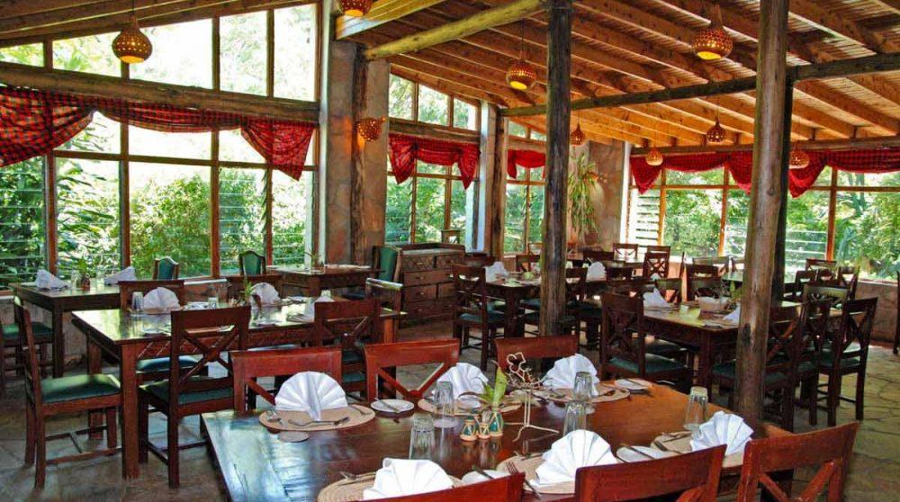 Le restaurant du Mara Sarova
