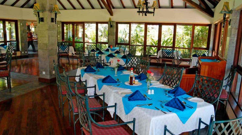 Le restaurant du Naivasha Simba Lodge