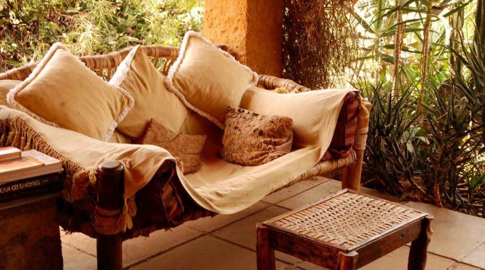 Un coin pour se reposer au Ngong House