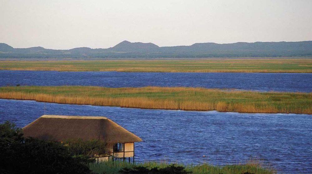 Le lac de Santa Lucia dans le Kwazulu Natal