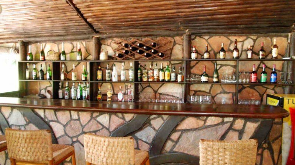 Le bar du Sekenani Camp