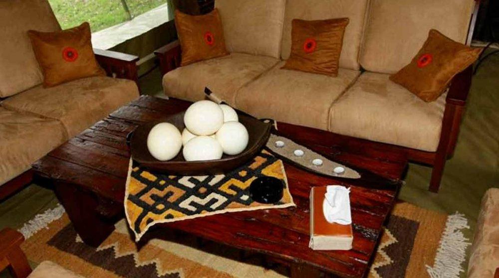 Un autre salon au Kenya