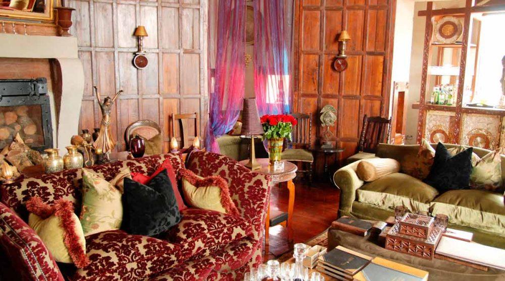 Autre vue d'un salon en Tanzanie