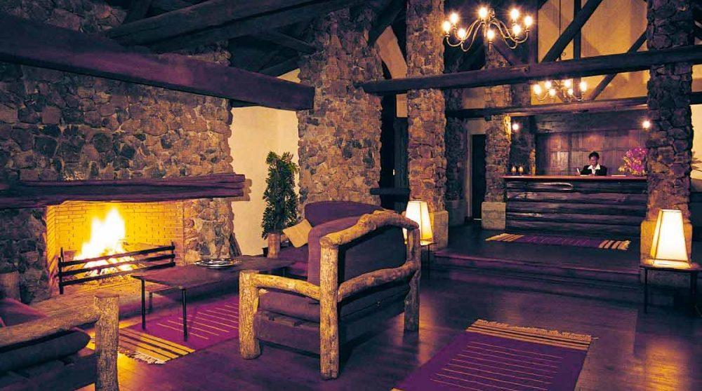 L'intérieur du lodge au Kenya