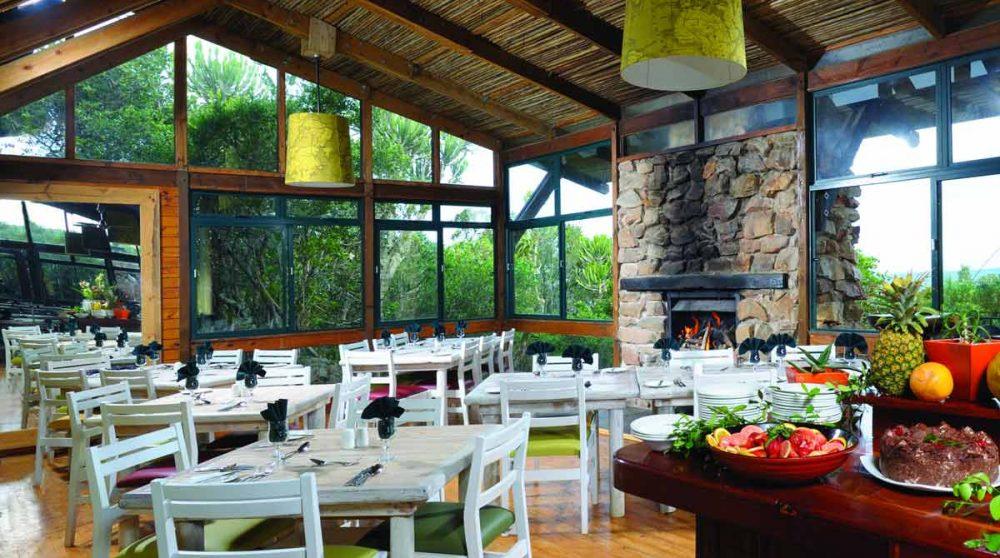 Le restaurant en Afrique du Sud