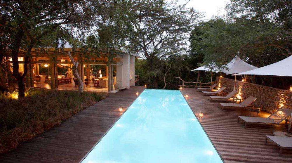 La piscine près du Game Reserve
