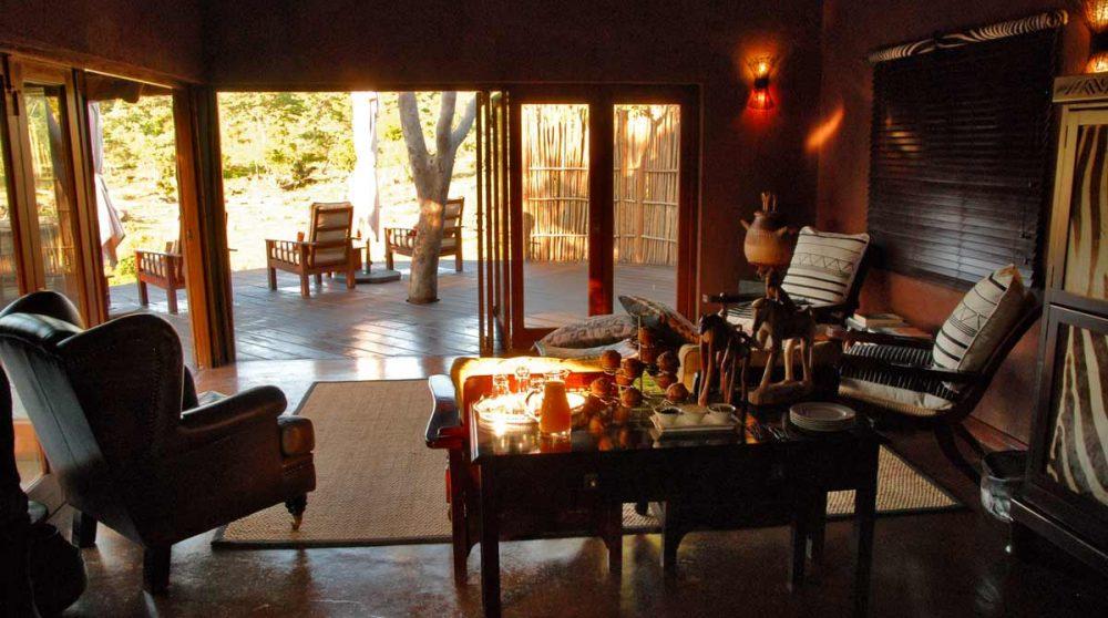 Autre vue du salon en Afrique du Sud