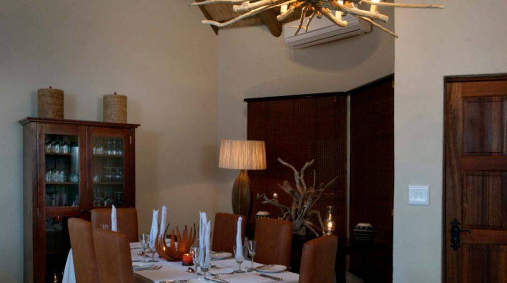 Salle à manger en Afrique du Sud