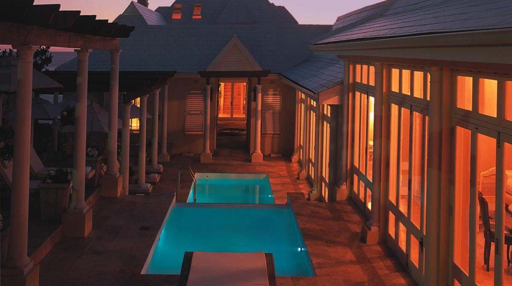 Autre vue de la piscine en Afrique du Sud