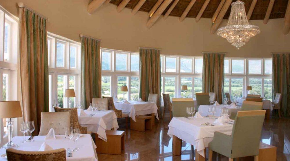 Autre vue du restaurant en Afrique du Sud