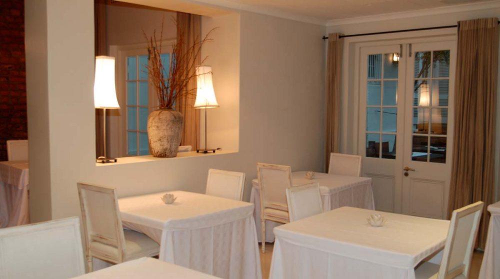 Salle du restaurant en Afrique du Sud
