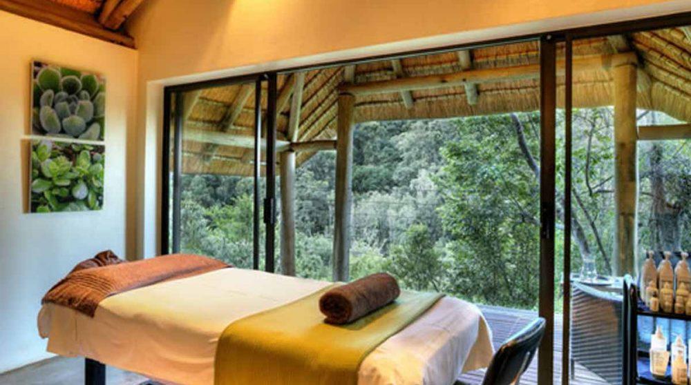 Le spa dans le Drakensberg