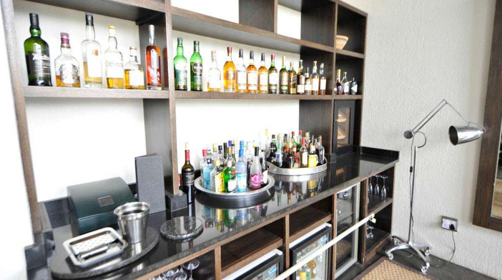 Le bar près du parc Kruger