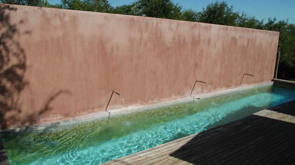 La piscine au parc Kruger