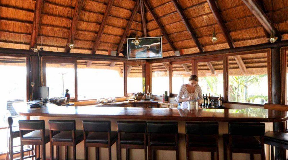 Le bar à Sabi Sand