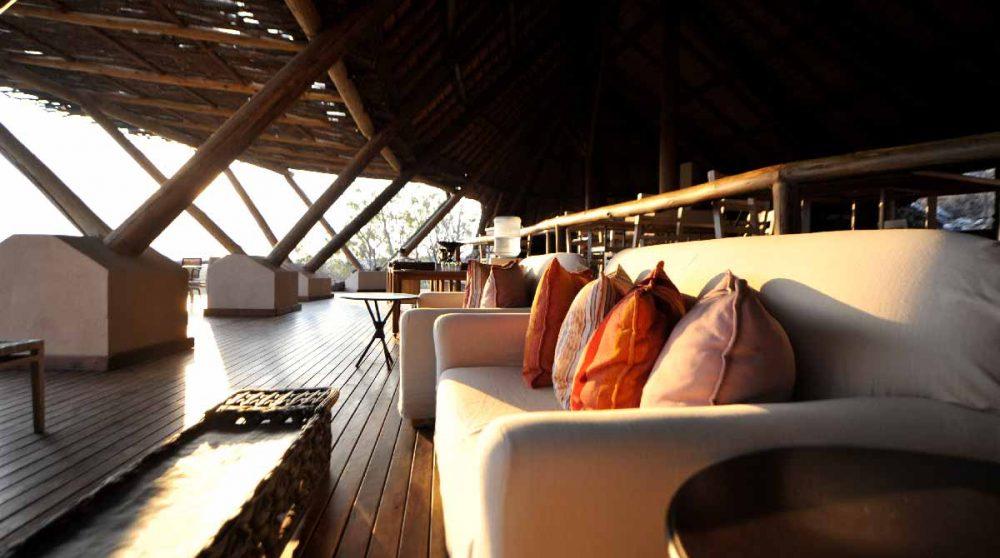 Un salon en Namibie