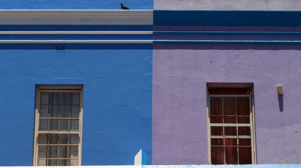 Les maison colorées de Bo Kaap à Cape Town