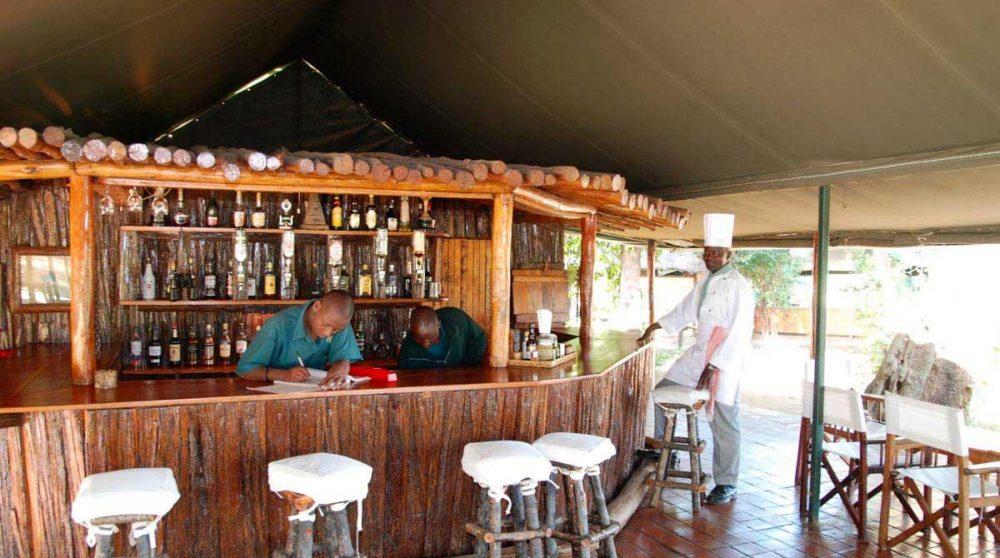 Le bar au Kenya
