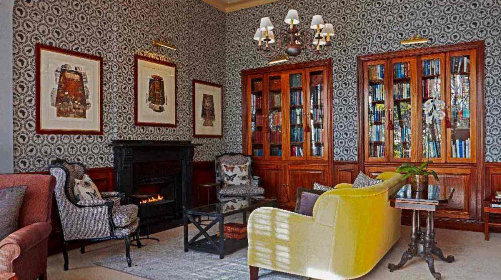 La bibliothèque à Ellerman House
