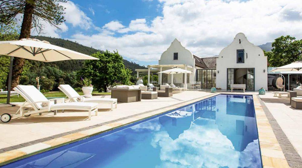 La piscine en Afrique du Sud
