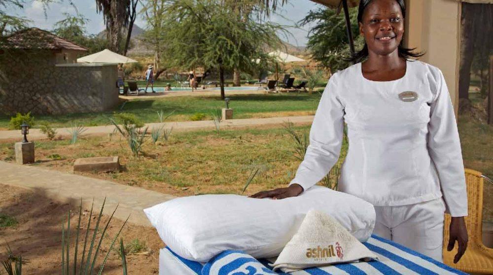 L'hôtel propose des services de massage