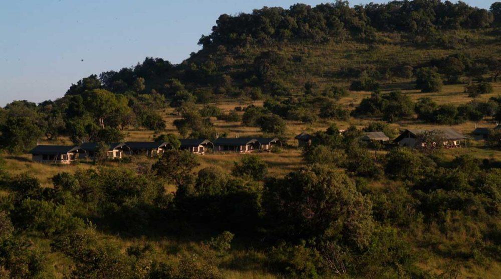 La nature autour du camp dans le Masai Mara