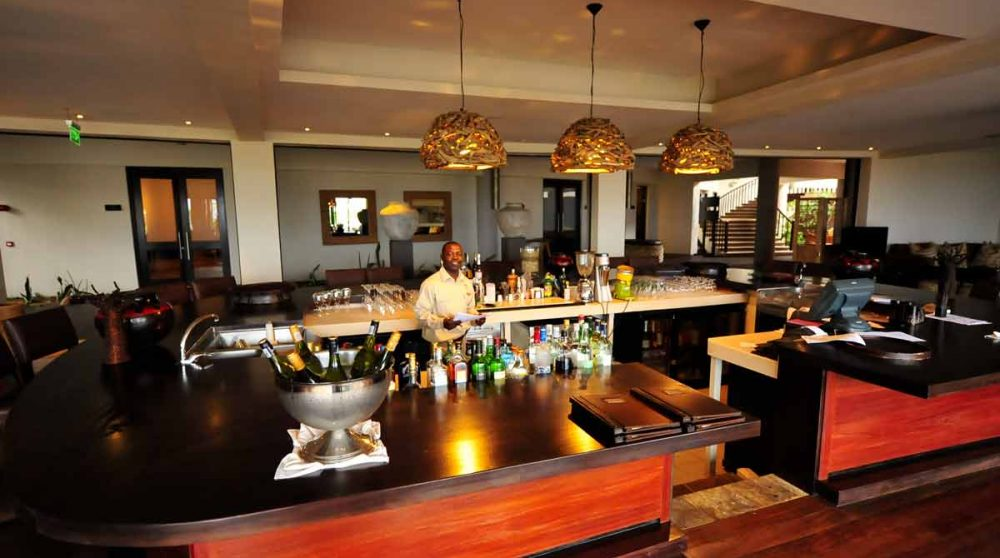 Le bar dans le Serengeti