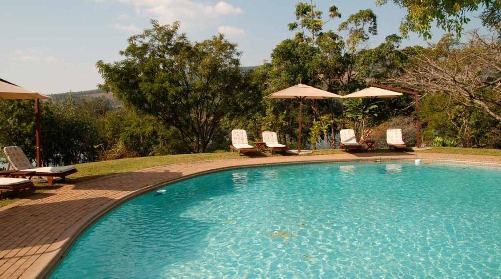 La piscine de l'hôtel à Mpumalanga