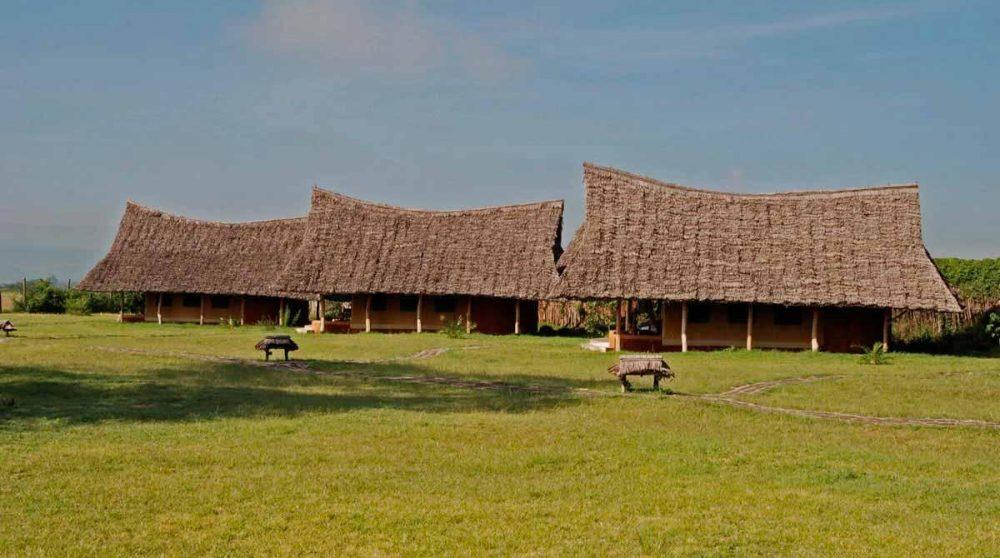 Les tentes dans le jardin au Lac Nakuru