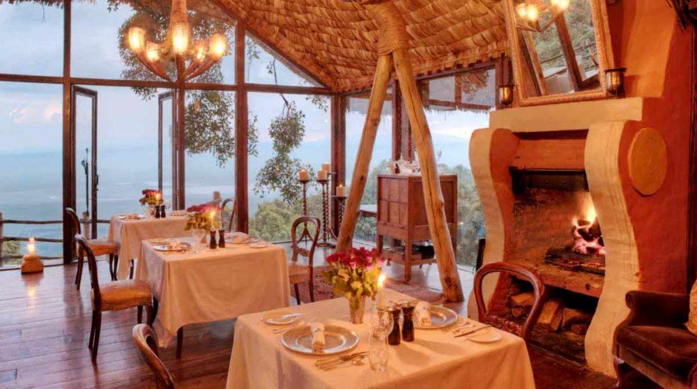 Le restaurant au Ngorongoro