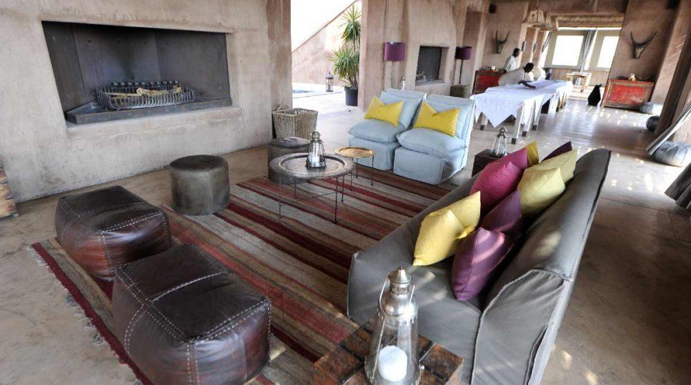 Un salon à Etosha