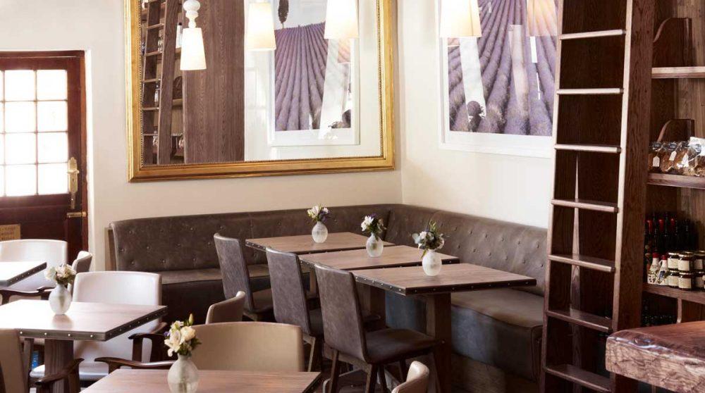 Table au restaurant la Belle à Cape Town