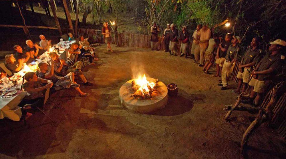 Spectacle traditionnel en Afrique du Sud