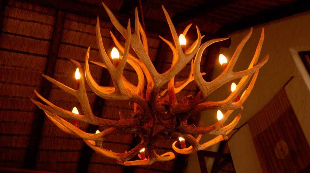 Détail de la décoration à Madikwe