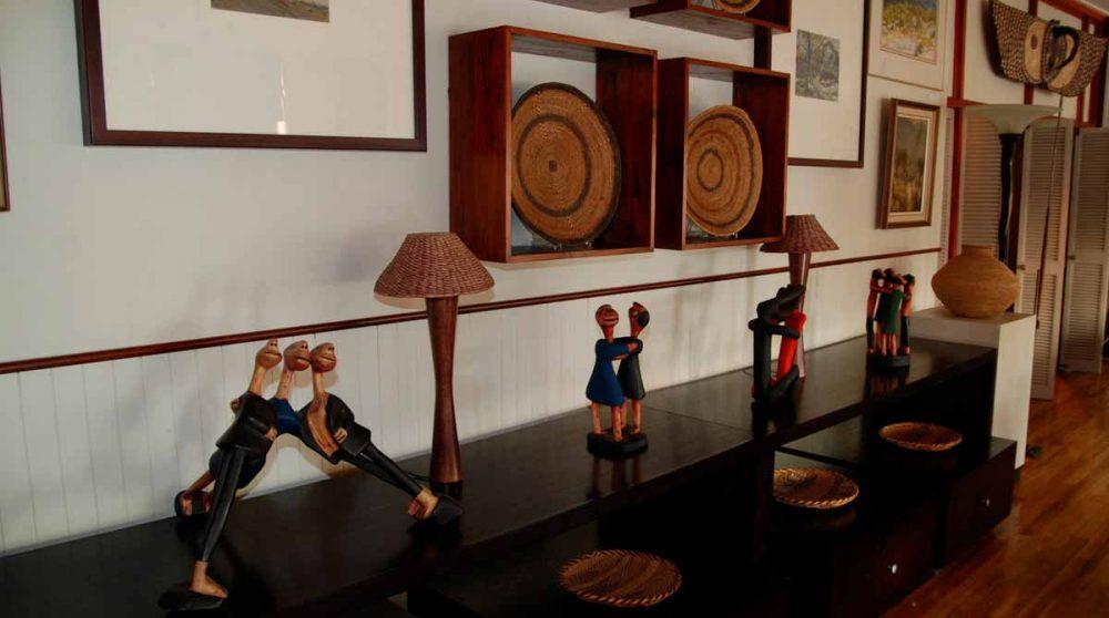 La décoration au restaurant en Afrique du Sud