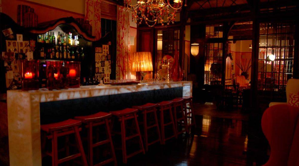Autre vue du bar au Cap