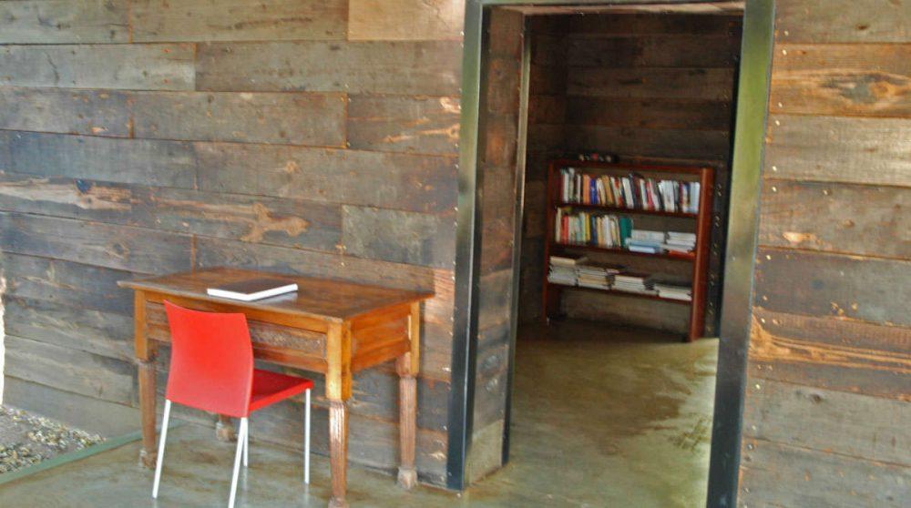 La bibliothèque à Manyeleti