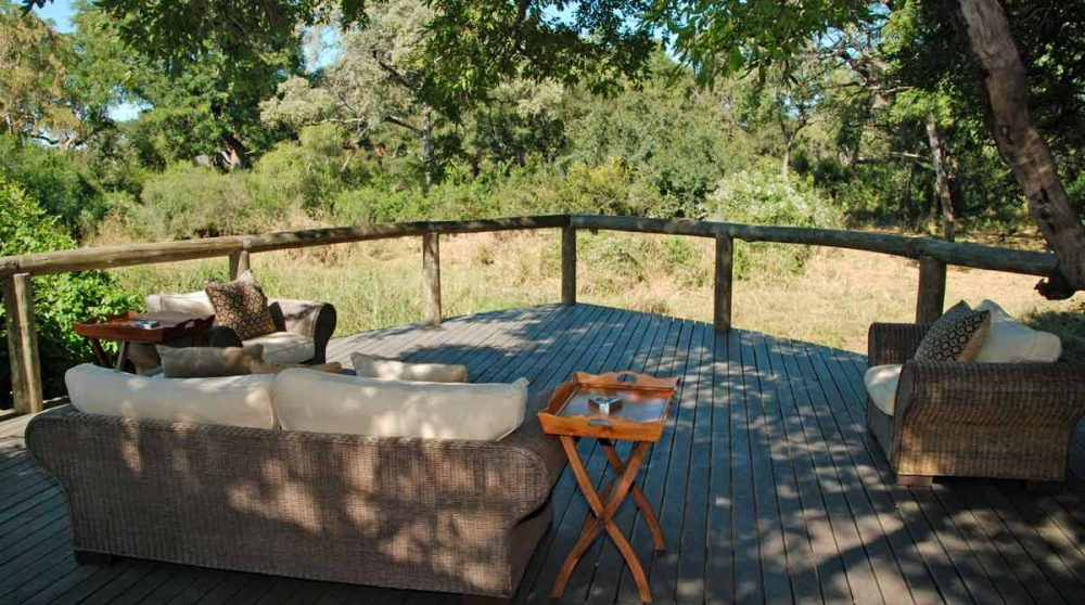 La terrasse en Afrique du Sud