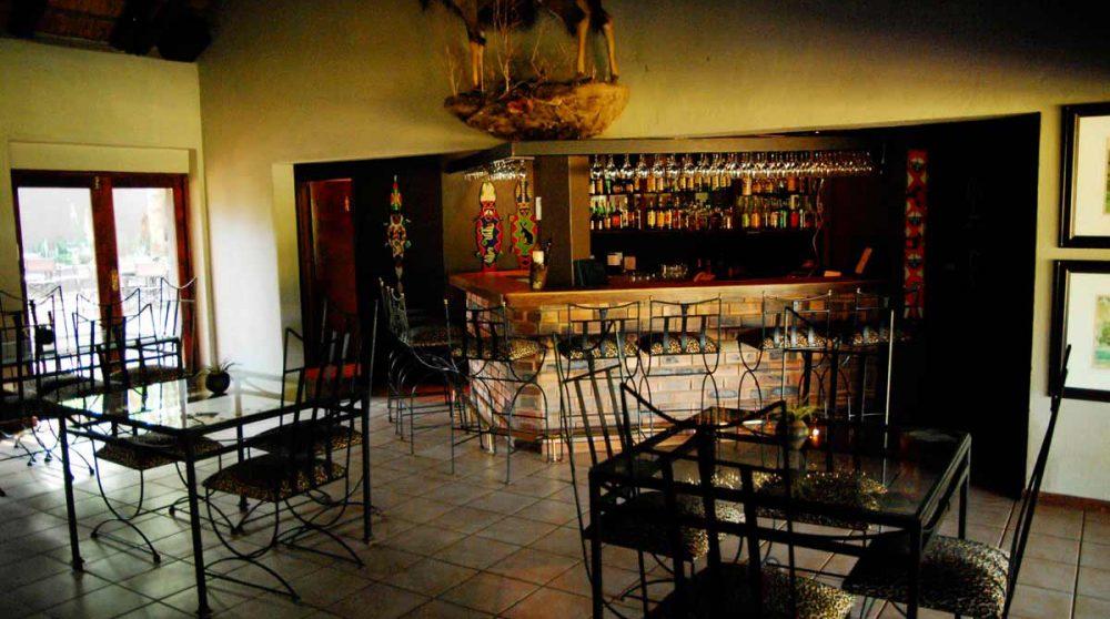 Le restaurant dans le Kwazulu Natal