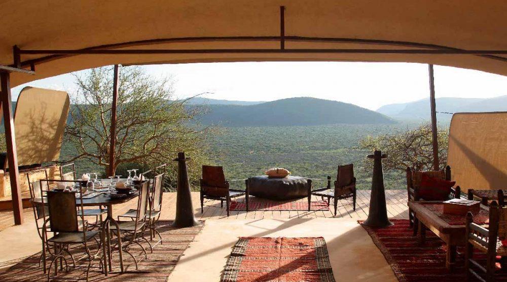 Profitez de la vue à Samburu