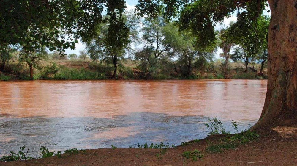La rivière à Samburu