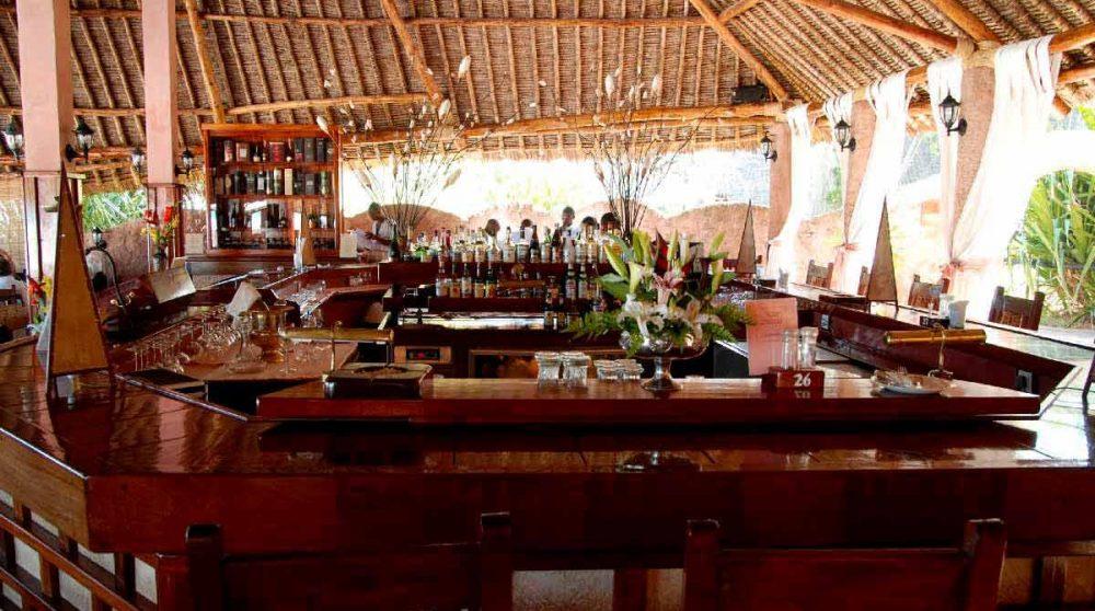 Autre vue du bar au Kenya